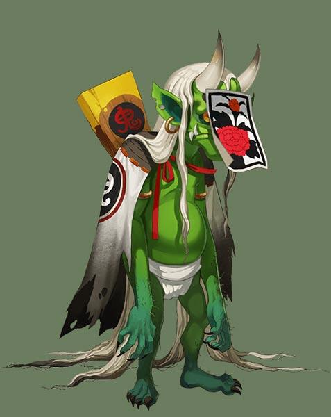 天邪鬼绿角色介绍 手游阴阳师中的式神