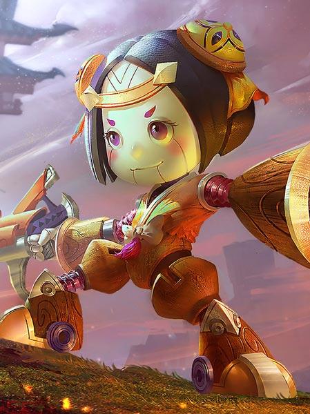 鲁班七号角色介绍 游戏王者荣耀中的射手英雄