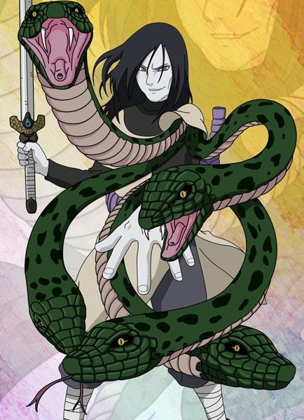 大蛇丸资料介绍 动漫火影忍者中的人物