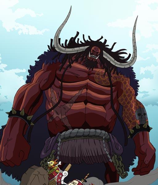 百兽凯多 动漫海贼王中的人物