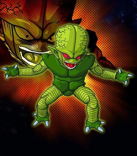 蔬菜人 动漫龙珠中的小怪物