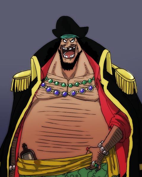 黑胡子马歇尔·D·蒂奇 动漫海贼王中的人物