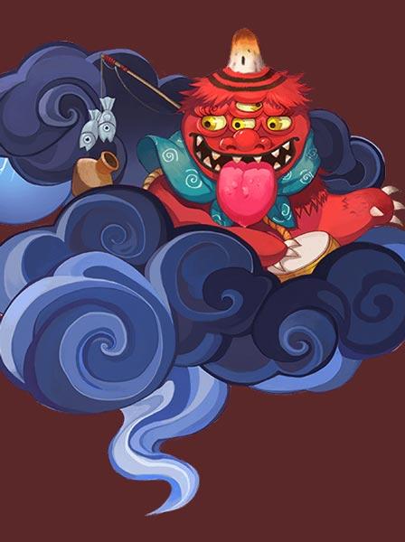 赤舌 手游阴阳师中的角色