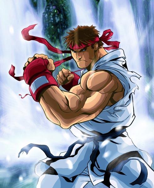 街头霸王隆-Ryu-リュウ