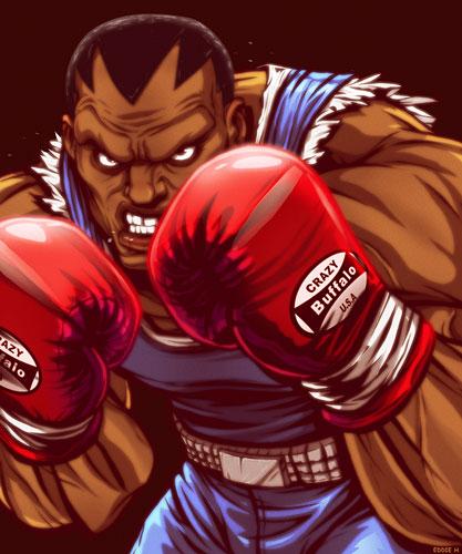 拳王拜森 街头霸王游戏中的角色