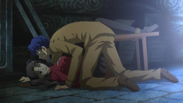 远坂凛被间桐慎二侵犯凌辱 凛被绑住并虐待的图片
