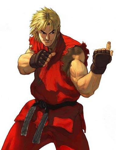 街头霸王2肯的出招 街霸2红衣肯怎么玩