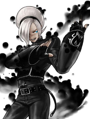 拳皇血之螺旋疯狂阿修-冥之炎黑化阿修-Evil Ash
