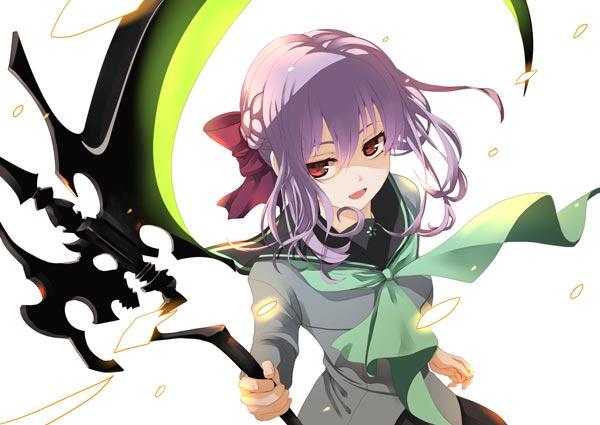 柊筱娅拿着四镰童子动漫图片(7P)