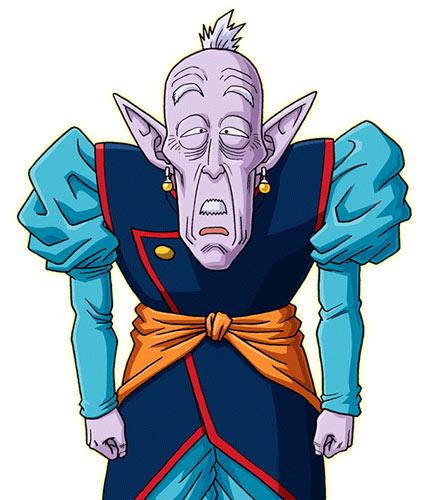 七龙珠老界王神-Ro Kaioshin-15代前的界王神
