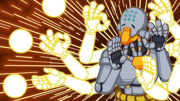机械僧侣禅雅塔动漫图片