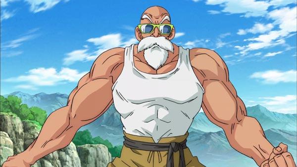 动漫龙珠超龟仙人爆发肌肉的霸气图片