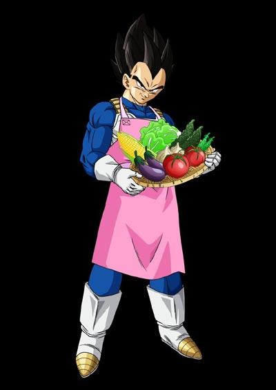东芝冰箱十周年 代言人蔬菜王子贝吉塔宣传图流出