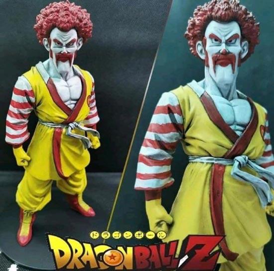 这是世界冠军撒旦先生为麦当劳代言吗?