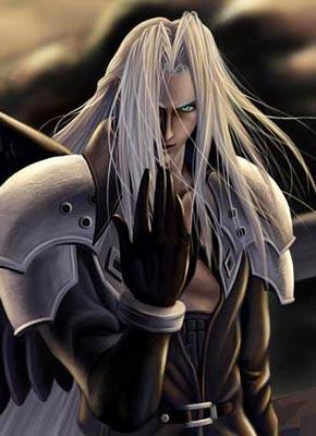 最终幻想7萨菲罗斯-Sephiroth-セフィロス