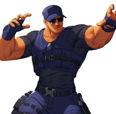 肌肉硬汉克拉克·史迪尔的游戏头像图片