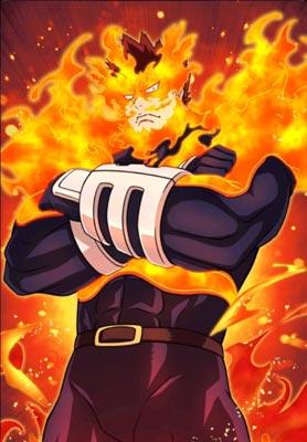 我的英雄学院安德瓦-轰炎司-烈焰英雄