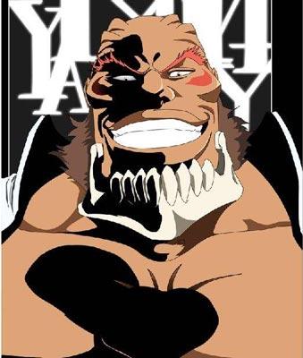 死神牙密·里亚尔戈-Yammy·Llargo-ヤミー·リヤルゴ